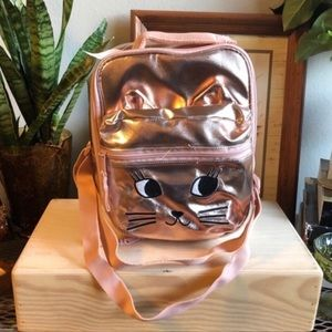 GAP Kids Metallic Kitty Cat Lunch Box